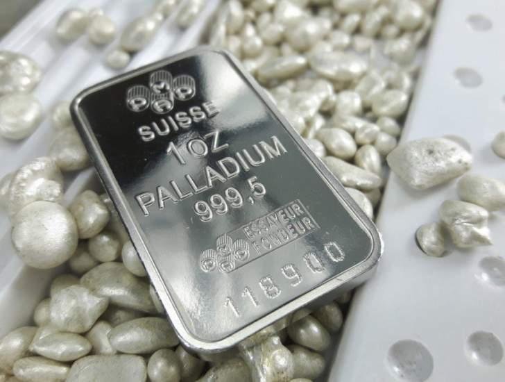 سعر البلاديوم يرتفع لمستوى قياسي جديد مع توقعات تعافي الطلب
