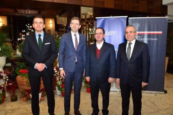 كيدانيان خلال حفل إعادة إطلاق خط جديد بين بيروت ووارسو: خطوة هامة ستعزز العلاقة الثنائية على مختلف الصعد