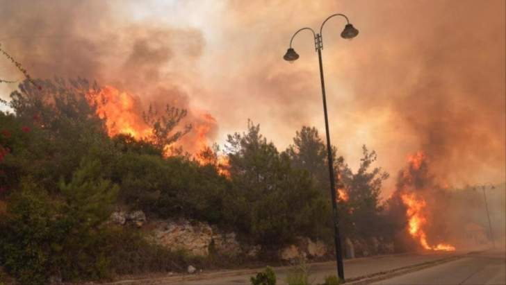 المساعدات التي قدمتها المفوضية الأوروبية لإطفاء الحرائق في لبنان