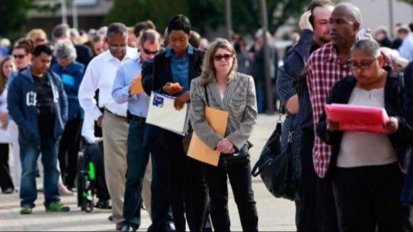 طلبات إعانة البطالة في أميركا تتراجع بأكثر من 110 آلاف خلال أسبوع