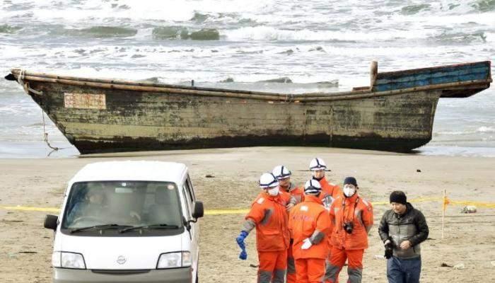 فقد سفينة تحمل ماشية وعشرات من أفراد الطاقم قبالة اليابان