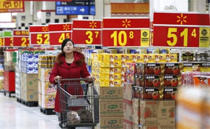 مبيعات التجزئة الصينية ترتفع بأبطأ وتيرة منذ عام 2003