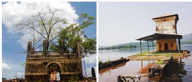 بالصور: قرية تحت الماء لا تظهر إلا مرة واحدة في السنة!