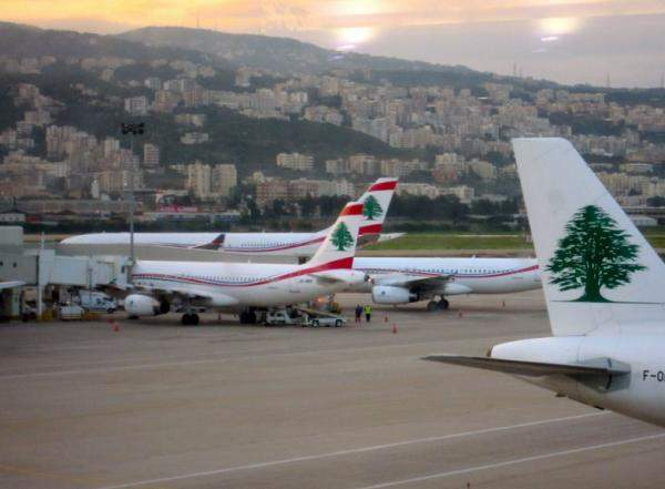 حركة الركاب بمطار بيروت ترتفع بنسبة 33.7% خلال الايام العشرة الاولى من حزيران