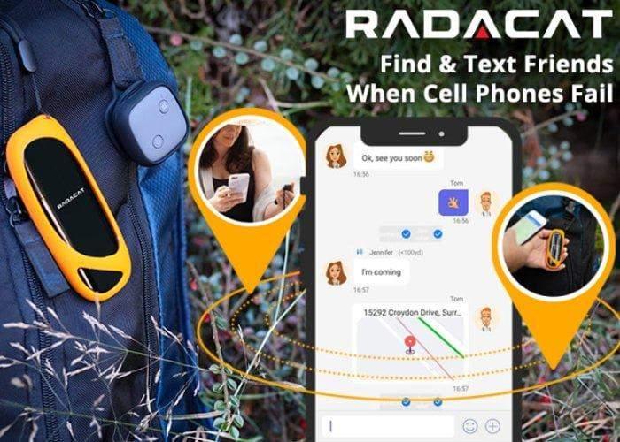 """Radacat"" متعقب ""GPS"" لا يتطلب أي اتصال خلوي أو اشتراك"