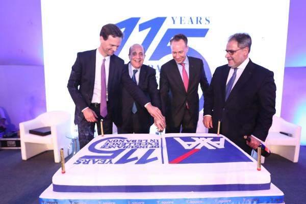 """رئيس """"أكسا العالمية"""" زار لبنان: فخورون بشركة """"اكسا"""" الشرق الاوسط الموجودة في بيروت منذ 115 عامًا"""