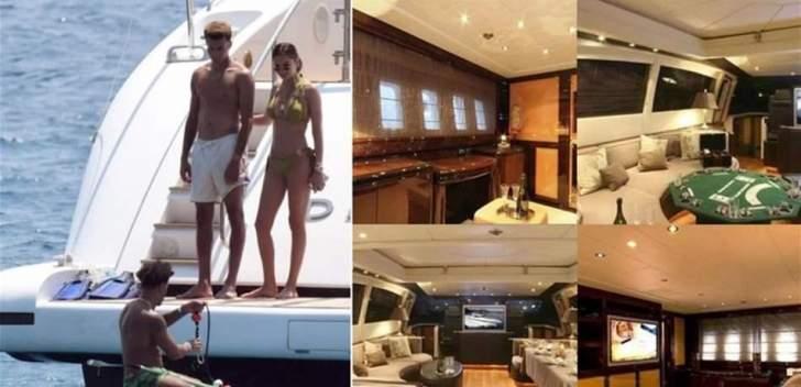 لاعب كرة قدم إنكليزي ينفق 50 ألف دولار في إجازة أسبوعية على اليخت!