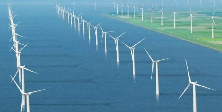الإتحاد الأوروبي يعتزم زيادة قدرته على إنتاج طاقة الرياح البحرية 25 ضعفاً بحلول العام 2050