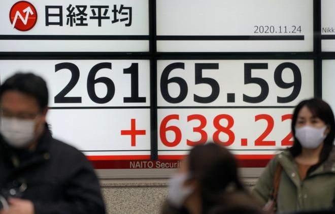 """مؤشر """"نيكي"""" الياباني يغلق قرب أعلى مستوى في 29 عاماً ونصف"""