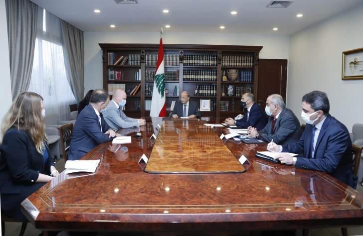 الرئيس عون يعرض مع السفير الألماني تفعيل الإتفاقيات الثنائية