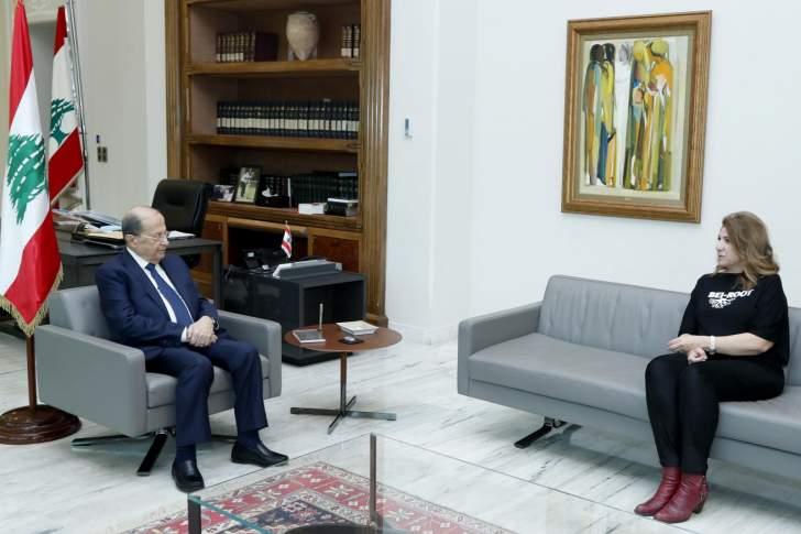 الرئيس عون: من دون حلّ مشكلة التدقيق الجنائي لا يمكن الإتفاق مع الدول الراغبة في مساعدة لبنان