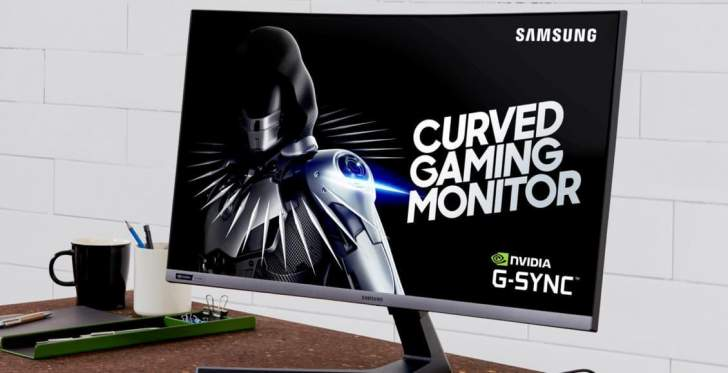 """""""سامسونغ""""تكشف عن شاشتها الجديدة""""CRG5""""بتردد 240 هرتز"""