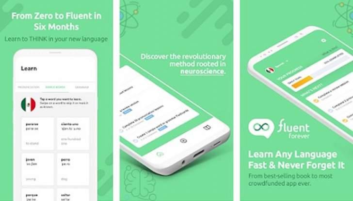 """تطبيق """"Fluent Forever"""" الجديد لمساعدة الأشخاص على تعلّم لغات جديدة"""
