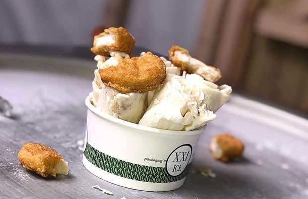 """شركة آيرلندية تصنع """"الآيس كريم"""" بمذاق """"ناغتس"""" الدجاج"""