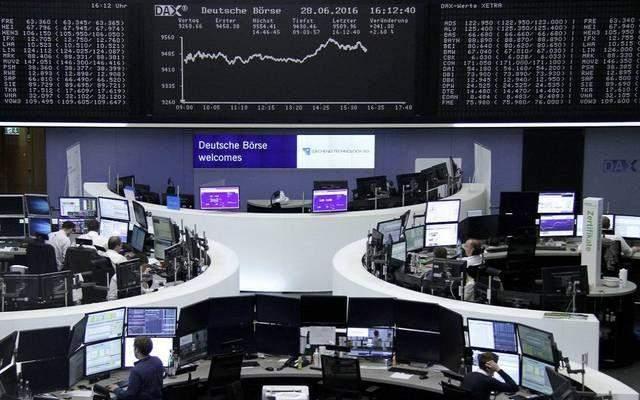 الأسهم الأوروبية ترتفع عند الإغلاق بعد بيانات إقتصادية