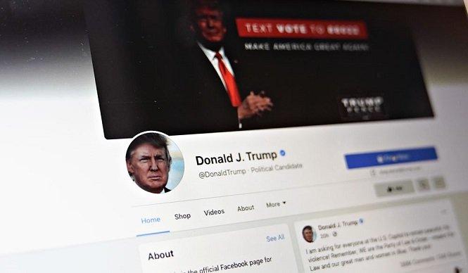 """فيسبوك"""" ينفي عودة حسابات ترامب"""