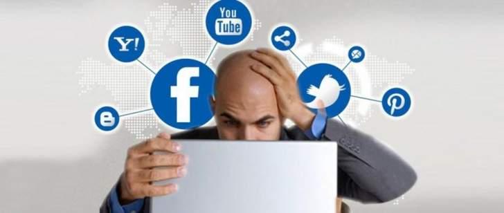 الاستخدام المنتظم لمواقع وسائل التواصل الاجتماعي يتسبب بضغوط هائلة