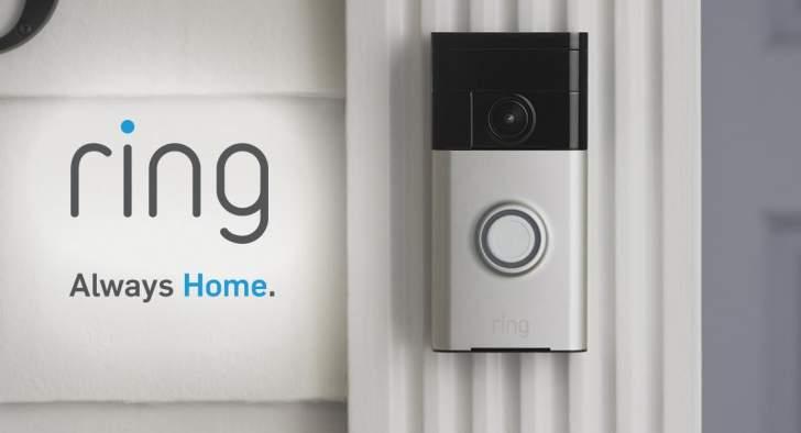 """""""رينغ"""" للأمن المنزلي تسرب معلومات المستخدمين إلى """"فيسبوك"""" و""""غوغل"""""""