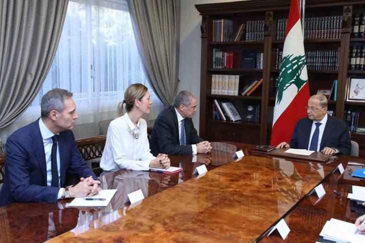 الرئيس عون: مجلس النواب سوف يباشر درس مشاريع قوانين إصلاحية