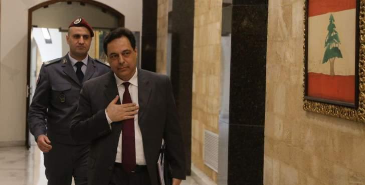 """دياب يوافق استثنائياً على تغطية سلفة خزينة بالعملة الأجنبية لشراء المحروقات لزوم """"مؤسسة كهرباء لبنان"""""""