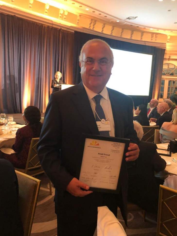"مدير عام ""ليبان بوست"" يحصل على جائزة ""Corporate Social Intrapreneur of the year 2019"""