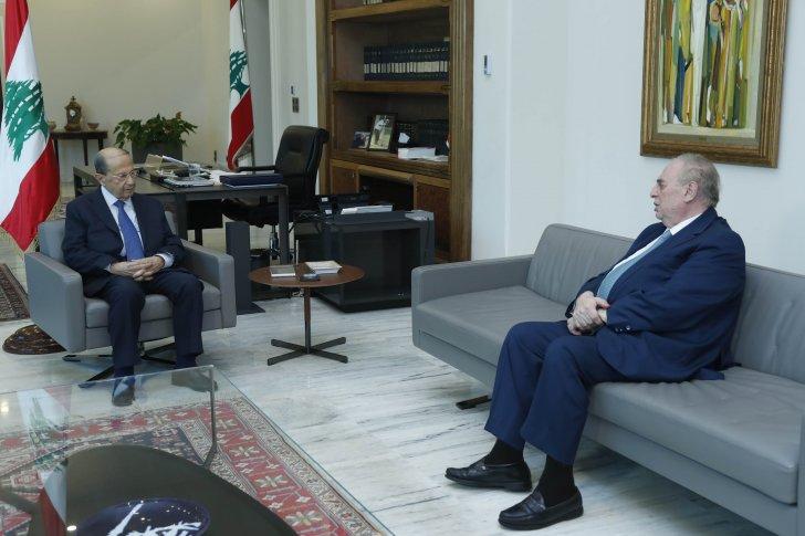 الرئيس عون يطّلع من النائب البستاني على آخر تطورات معالجة أزمة تصدير المنتجات إلى الخليج