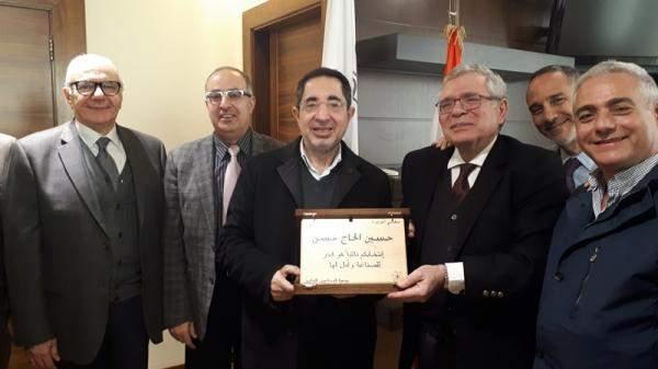 جمعية الصناعيين بحثت مع الحاج حسنسبل إعادة تفعيل التصدير البري عبر سوريا