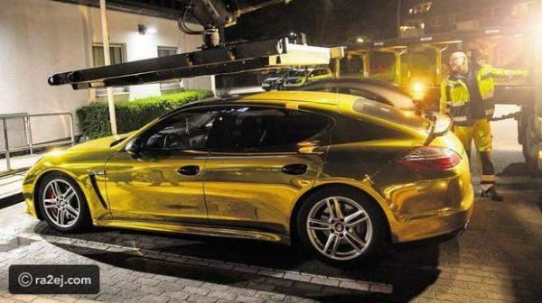 """ألمانيا تمنع """"بورش"""" ذهبية من السير على الطرقات وتغرّم صاحبها"""