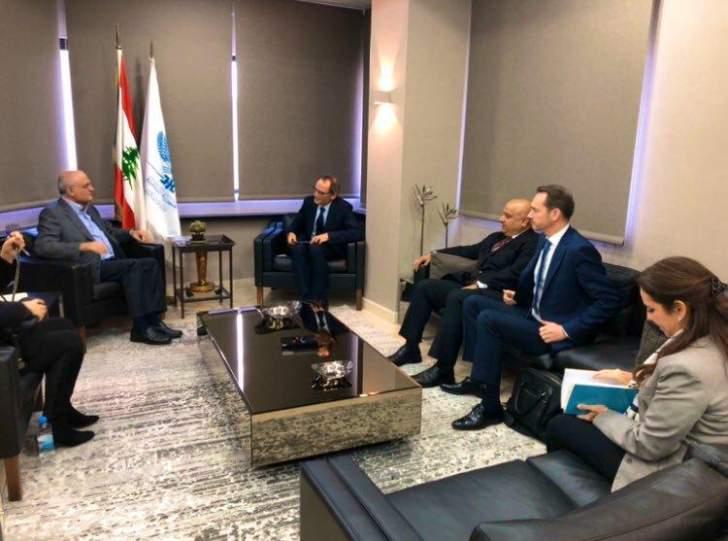"""""""البنك الدولي"""" بعد زيارة خليل: مستعدون للمساعدة ودرس تأثيرات الأزمة التي يمرّ بها لبنان"""