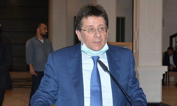 """كنعان بعد اجتماع لجنة المال: تم البحث في التطورات بين الحكومةو""""لازارد"""" وصندوق النقد"""