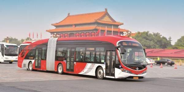 الصين تسعى لتسيير أول حافلات للنقل العام ذاتية القيادة