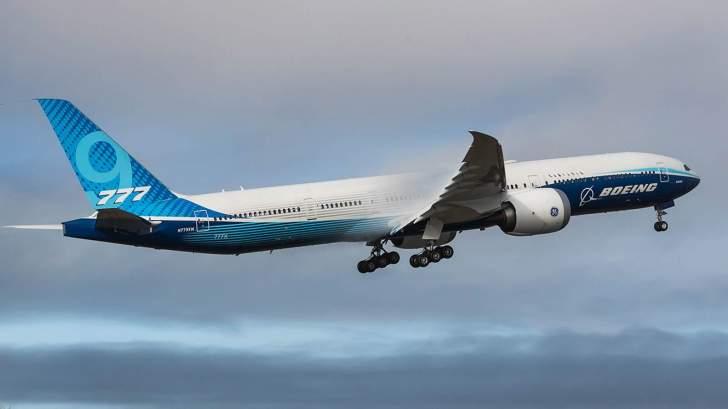 """""""بوينغ"""": نجاح تحليق أكبر طائرة ركاب في العالم من طراز """"777 إكس"""""""