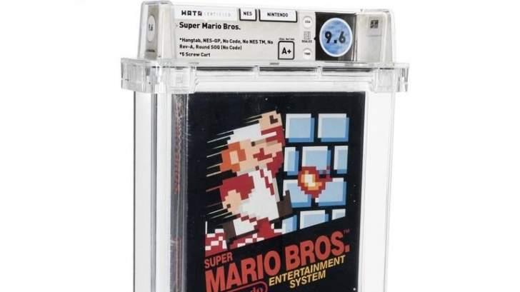 """660 ألف دولار ثمن نسخة من لعبة """"Super Mario Bros"""""""