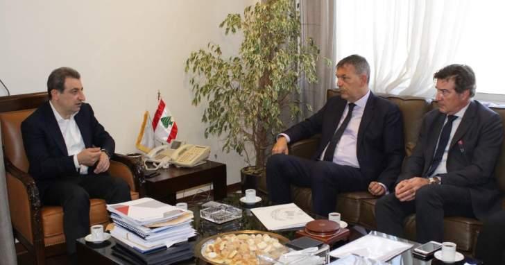 أبو فاعور بحث مع لازاريني زيادة قيمة مشتريات المنظّمات الدولية العاملة في لبنان من الانتاج اللبناني