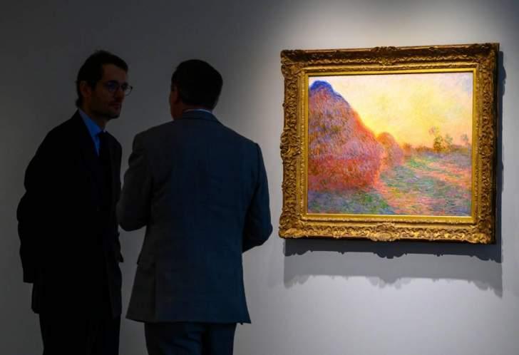 110.7 مليون دولار سعرلوحة للرسام الفرنسي مونيه!