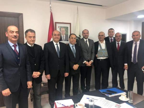 اجتماع بين بطيش ومراد مع السفير التركي في بيروت للبحث بملف تصدير الخردة