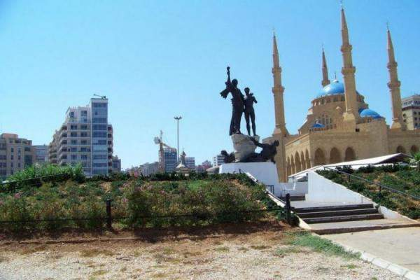 خاص - ساحة الشهداء في بيروت ستتحول الى ساحة مشابهة لـتايمز سكوير ليلة رأس  السنة