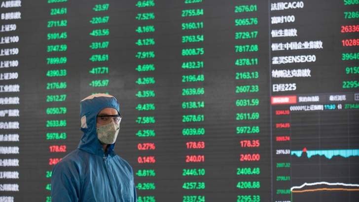 الأسهم الصينية تختتم التعاملات على تراجع تزامناً مع هبوط البورصات العالمية