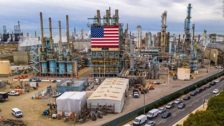 مخزونات النفط الأميركية تهبط 4.8 مليون برميل الأسبوع الماضي