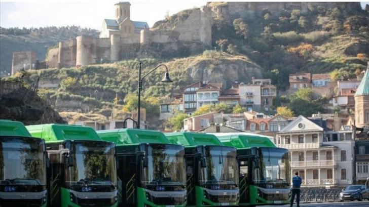 """شركة """"BMC"""" التركية صدرت 261 حافلة نقل عام إلى جورجيا منذ العام 2019"""