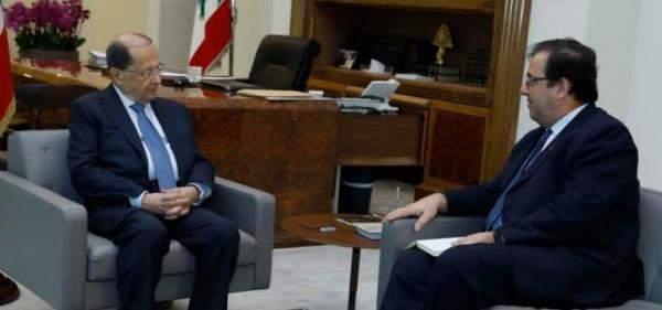 """التقرير اليومي 23/4/2018: الرئيس عون عرض مع السفير الفرنسي في لبنان نتائج مؤتمر """"سيدر"""""""