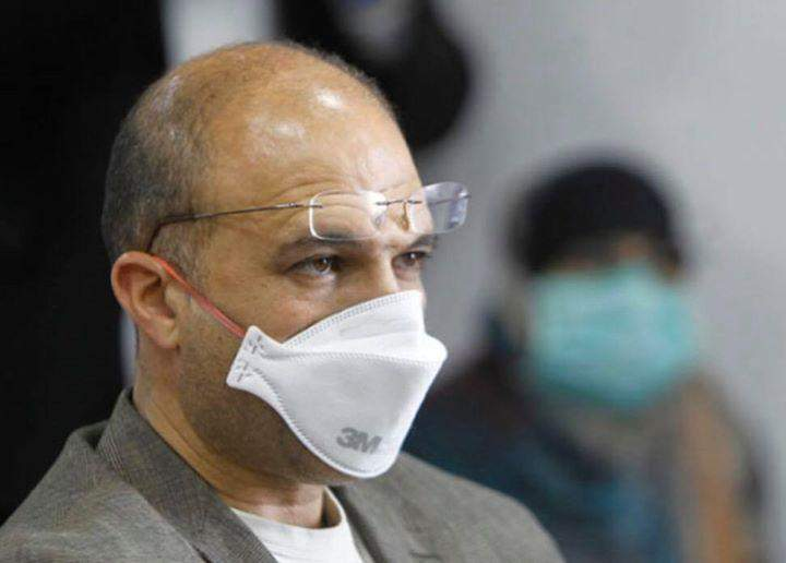 """وزير الصحة: هناك إستهتار كبير في طريقة التعاطي مع فيروس """"كورونا"""""""