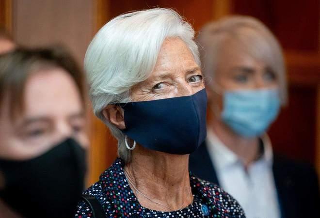 """لاغارد تحذر من فرض قيود جديدة في منطقة اليورو للحد من انتشار """"كورونا"""""""