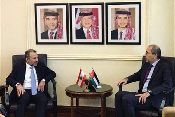 التقرير اليومي 10/10/2018: باسيل من الأردن: نأمل أن يفتح معبر نصيب قريبا لتعود الحركة إلى زخمها السابق
