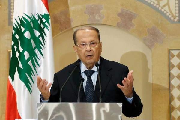 التقرير اليومي 15/10/2018: عون: فتح معبر نصيب سيُنعش مختلف القطاعات الإنتاجية اللبنانية