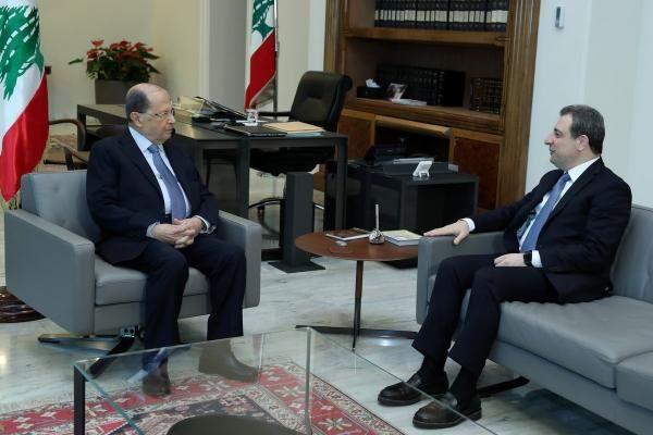 التقرير اليومي 18/2/2019: أبو فاعور من بعبدا: هناك ما يشبه الإستباحة للصناعة اللبنانية واقترحت مجموعة إجراءات لحمايتها من الإغراق