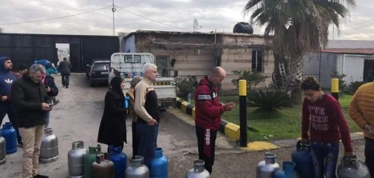 التقرير اليومي 13/1/2020: طوابير أمام شركة الغاز في الزهراني.. وتقنين في توزيع القوارير
